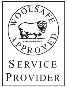 Wool Safe Approved Logo