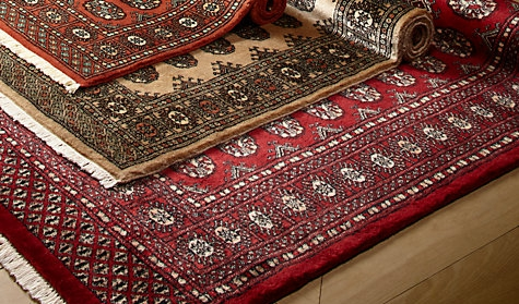 Three Chemically Treated Rugs