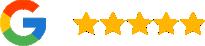 Google Reviews Logo and Stars
